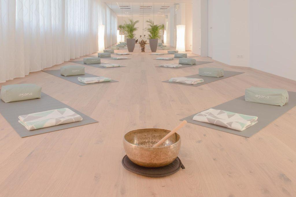 Yoga Kurse im Asana Yoga Studion 1230 Wien - Klangyoga