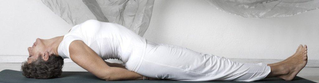 Matyasana Der Fisch - asana Yoga mit Roswitha Stelzer