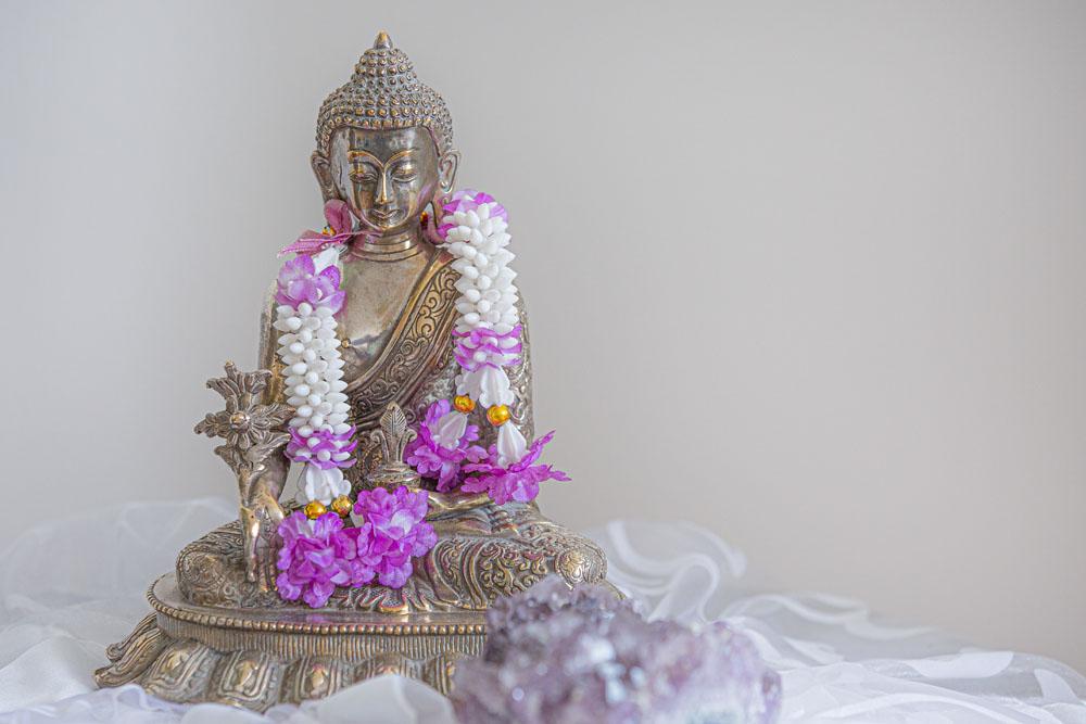 Der Medizinbuddha unterstützt und verstärkt eine Heilung.