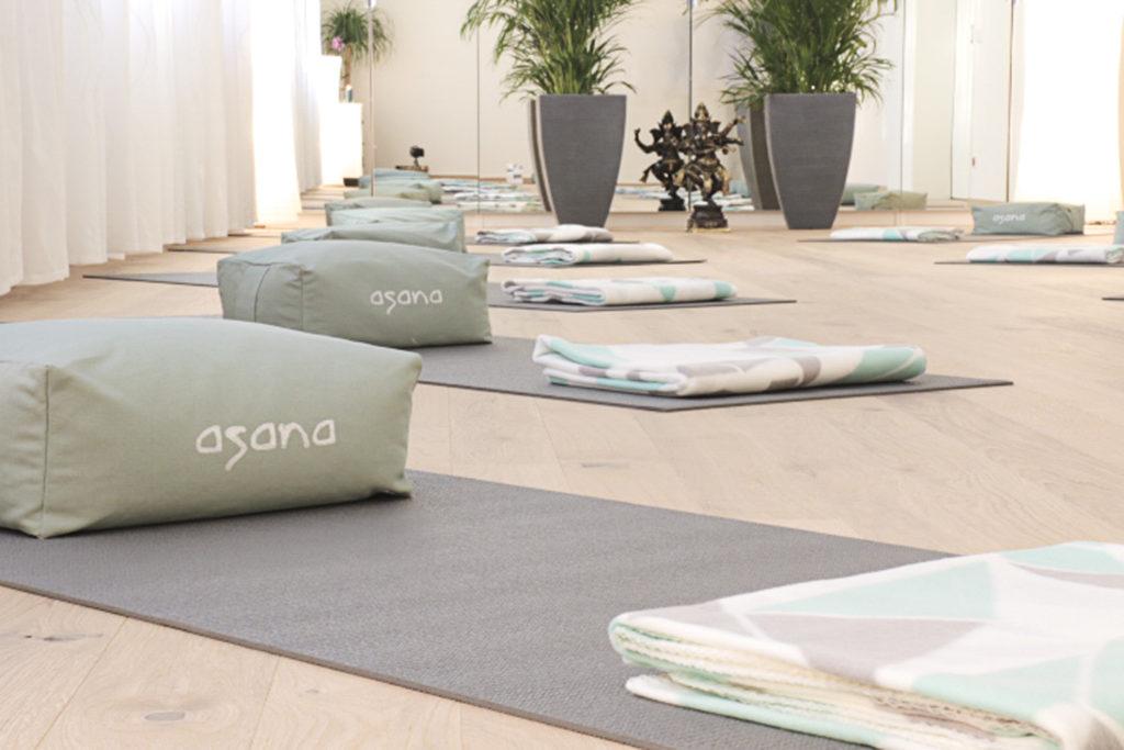 Asana Yoga Studio 1230 Wien - gemütliche Atmosphäre